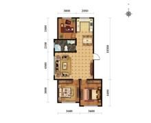 (松山区)和硕家园3室2厅1卫114m²毛坯房
