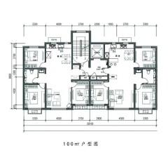 (红山区)华弘.滟澜山2室2厅1卫87m²毛坯房