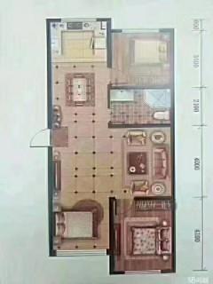 中唐国际单捆小棚哦,106平三室,单价8900,首付40万左
