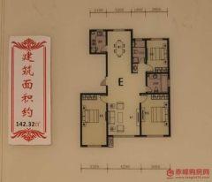 (松山区)恒德清秀园 3室2厅2卫
