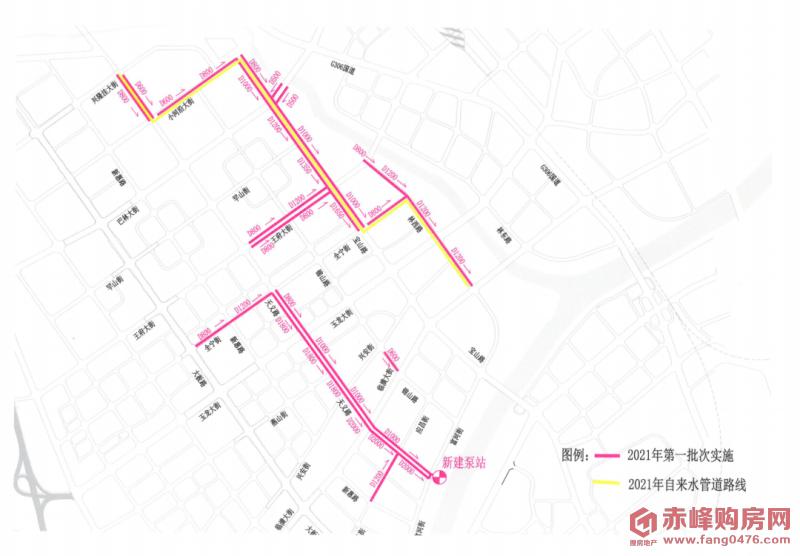 4月3日起赤峰新城这些路段封闭!附绕行路线