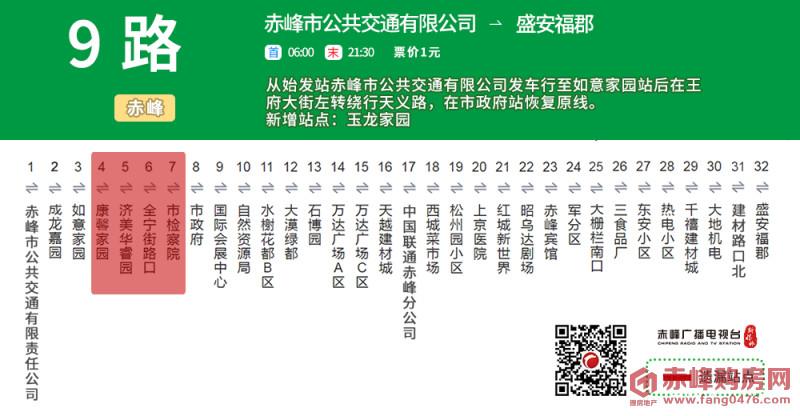 赤峰最新公交绕行线路站牌来了!不想坐错站赶紧看